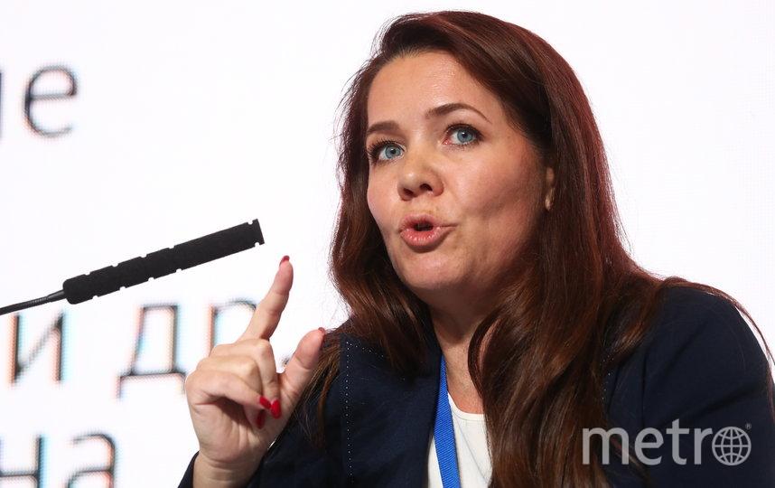 Заммэра Москвы по вопросам социального развития Анастасия Ракова. Фото Getty