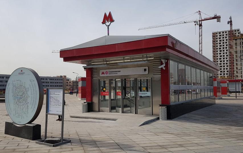 """Станция Некрасовской линии """"Стахановская"""". Фото Василий Кузьмичёнок"""