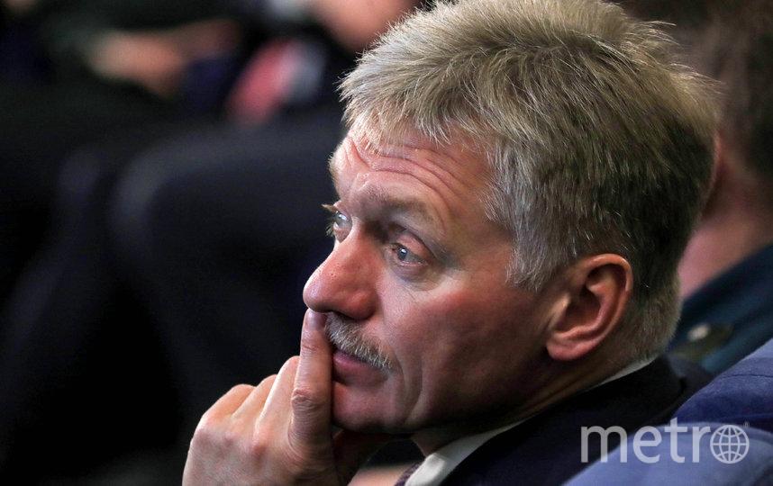 Песков подтвердил, что зафиксирован случай заражения коронавирусом в Кремле. Фото Getty