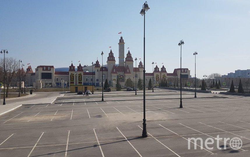 """Москва, 28 марта. Закрыт """"Остров мечты"""". Фото Василий Кузьмичёнок"""