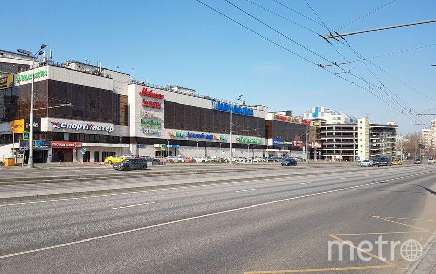 Москва, 28 марта. Проспект Андропова. Фото Василий Кузьмичёнок