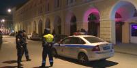 В Петербурге закрывали барную улицу с полицией: видео