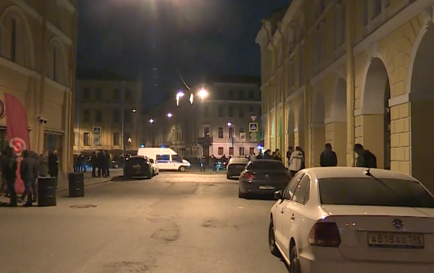 Кадры видео с места происшествия. Фото Скриншот/канал 78