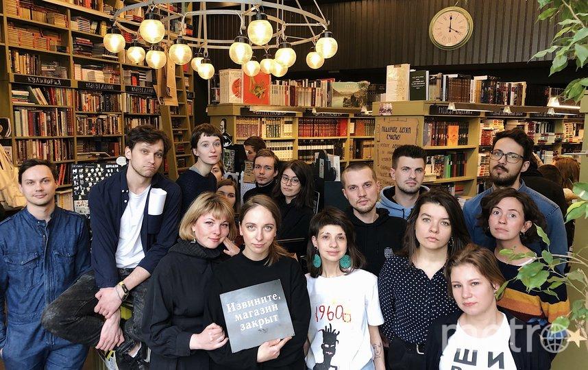 """Книжный магазин """"Подписные издания"""" также закрылся до 5 апреля. Фото vk.com/izdaniya, vk.com"""