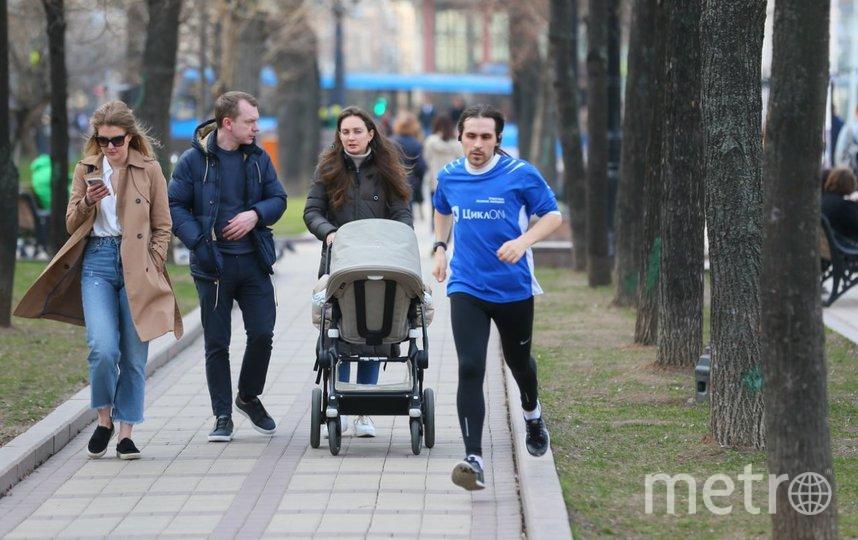 Москва, 28 марта. Фото Василий Кузьмичёнок
