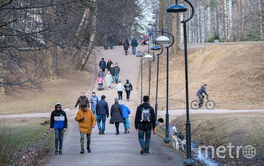 """Удельный парк. Фото Алена Бобрович, """"Metro"""""""