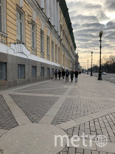 "Даже в центре людей почти нет. Фото Карина Тепанян, ""Metro"""