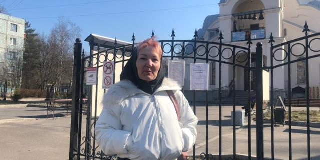 Храмы Петербурга открыты для прихожан.