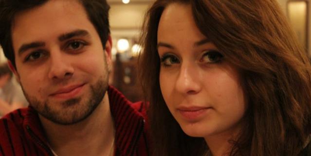Артём Медведев и Анна.