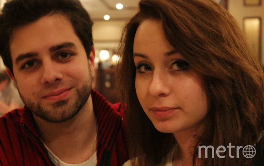 """Артём Медведев и Анна. Фото предоставил герой публикации, """"Metro"""""""