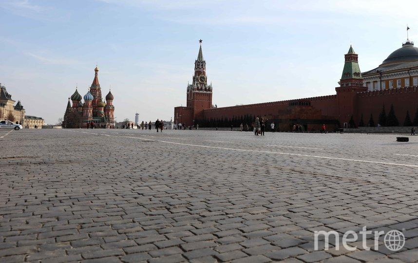 Большинство москвичей прислушались к рекомендациям властей и остались дома. Фото Getty