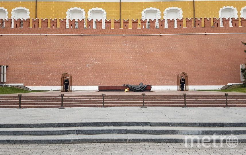 Вечный огонь, Александровский сад. Фото Василий Кузьмичёнок