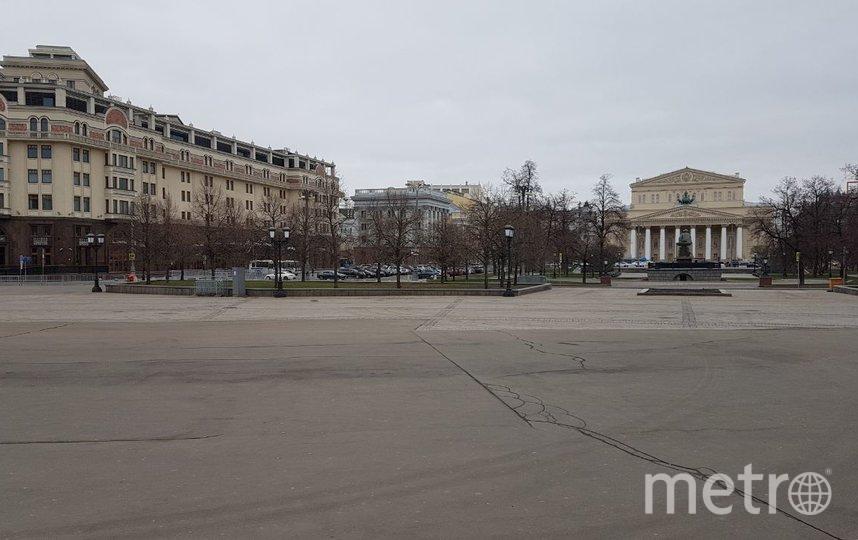 Театральная площадь. Фото Василий Кузьмичёнок