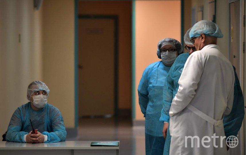 """Больные проходят лечение в Боткина. Фото """"Metro"""""""
