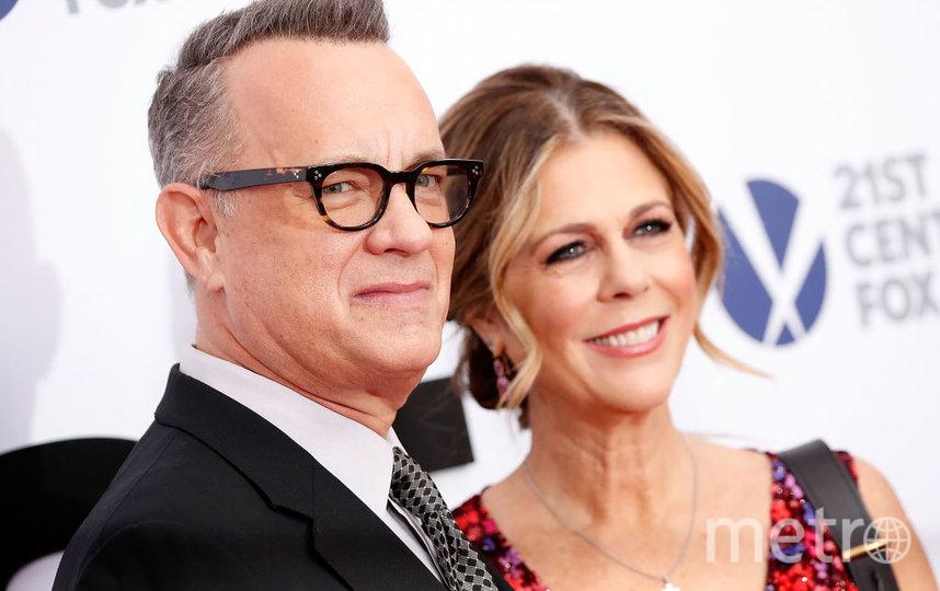 Том Хэнкс и Рита Уилсон. Фото Getty