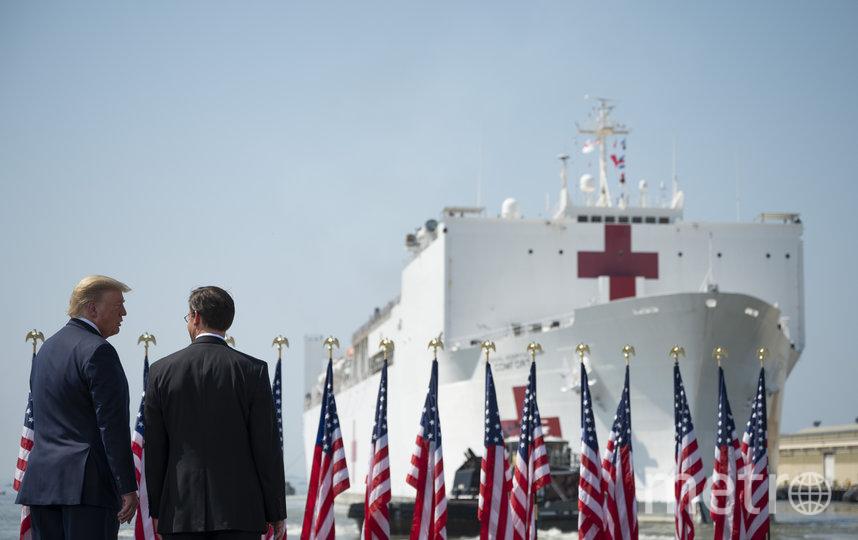 Больше всего заражённых коронавирусом – в США. Фото AFP
