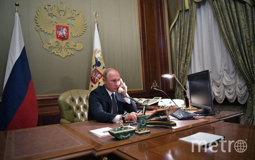 Владимир Путин и Дональд Трамп провели телефонные переговоры. Архивное фото. Фото Getty