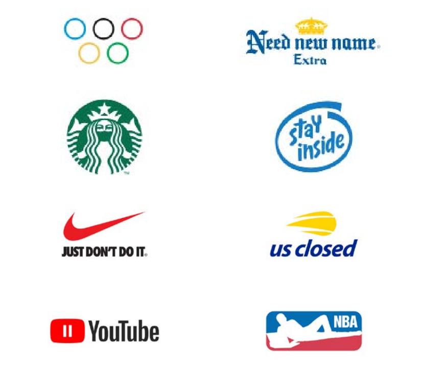 Дизайнер из Словении Юре Товрльян переосмыслил логотипы известных брендов. Фото Jure Tovrljan