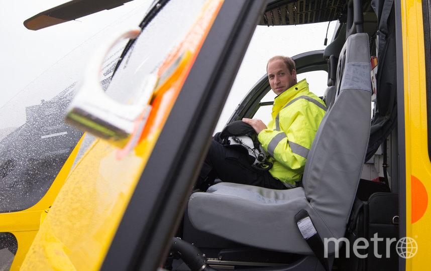 Принц Уильям провёл два года в санитарной авиации Восточной Англии с 2015 по 2017 годы. Фото Getty