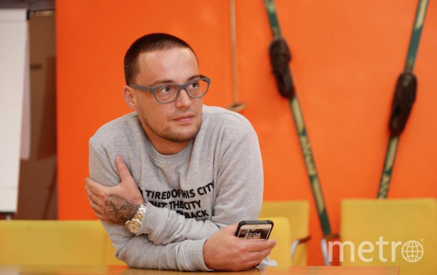 Российский рэп-исполнитель Алексей Долматов. Фото РИА Новости
