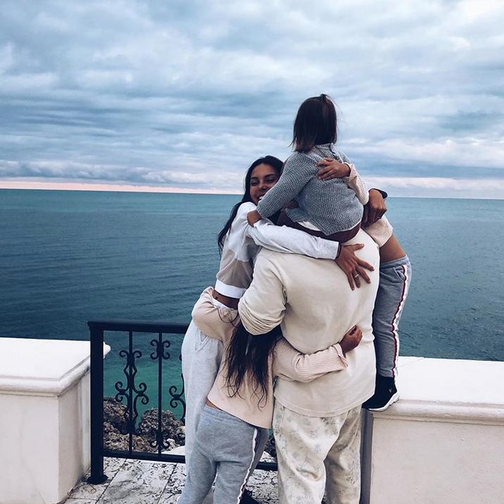 Оксана Самойлова и Джиган. Фото Скриншот Instagram: @samoylovaoxana