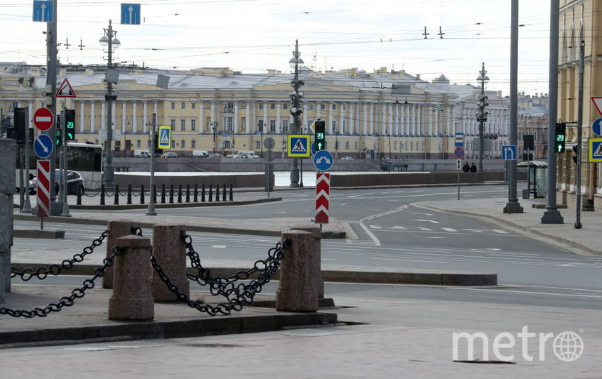 Петербург лидирует по самоизоляции. Фото Getty