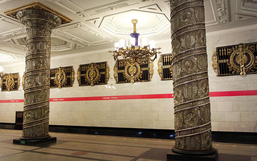 """Петербургский метрополитен сокращает часы работы. Фото """"Metro"""""""