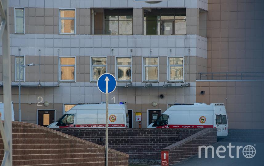 """Девушку направили в Боткинскую больницу. Фото """"Metro"""""""