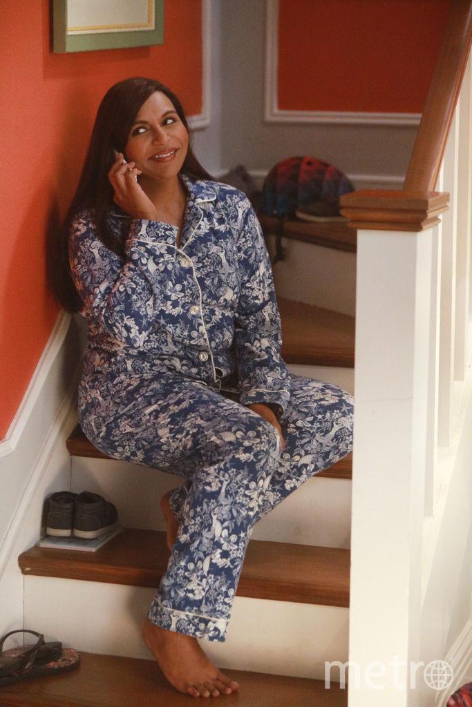 Звезды в пижамах. Минди Калинг. Фото Getty