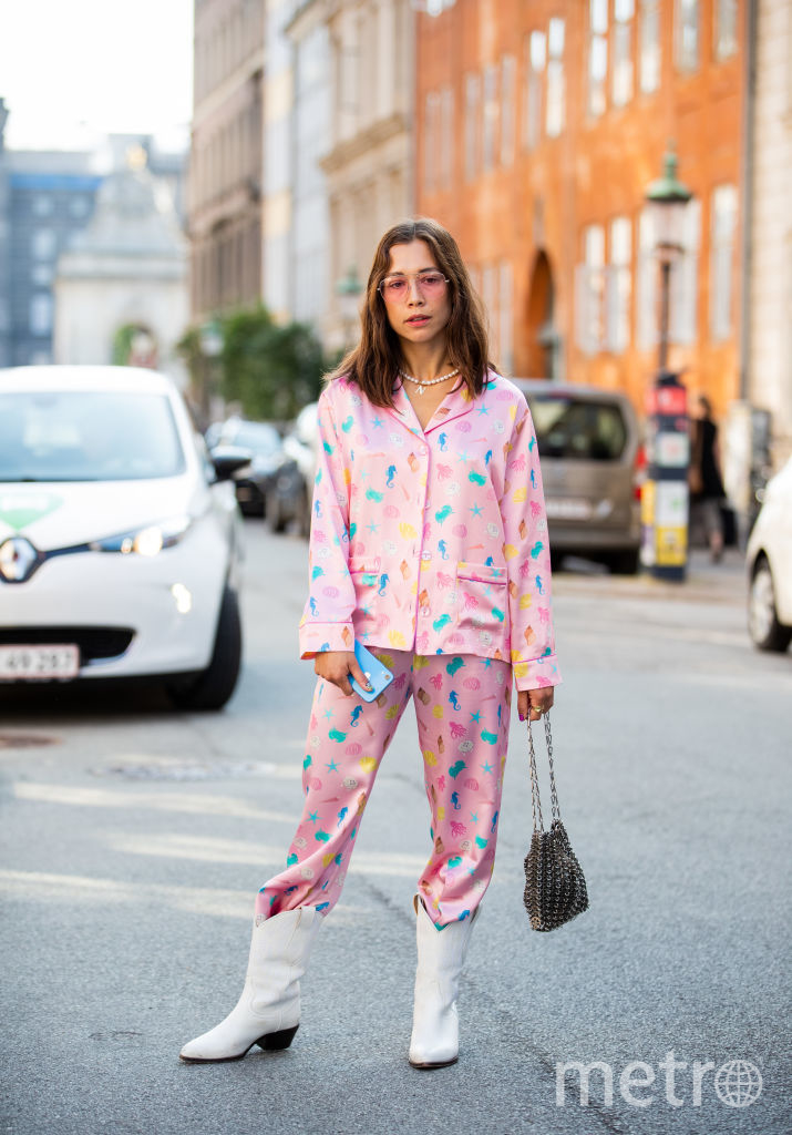 Звезды в пижамах. Николь Хайсман. Фото Getty