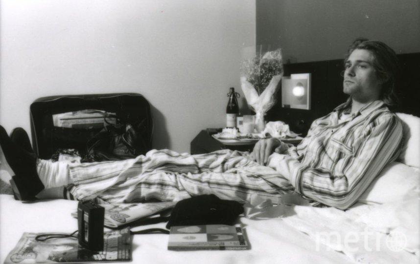 Звезды в пижамах. Курт Кобейн. 1992 год. Фото Getty