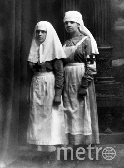 Сестры милосердия. Москва. 1914 г. Фото Главархив Москвы