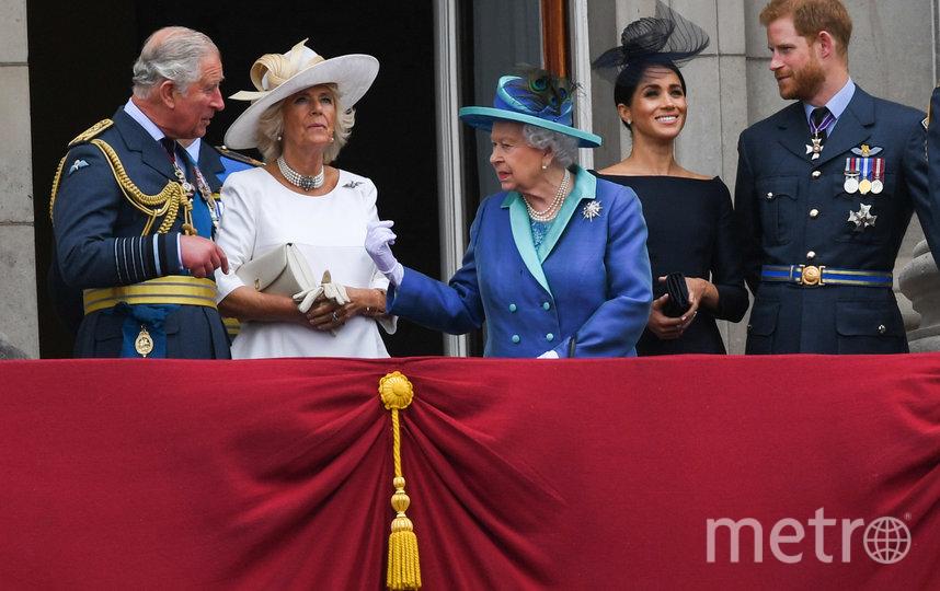 С 31 марта принц Гарри и Меган Маркл официально перестали исполнять обязанности старших членов британской королевской семьи. Фото Getty