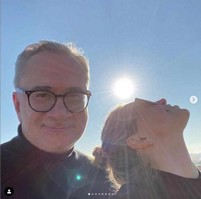 Вера Брежнева и Константин Меладзе.. Фото Скриншот Instagram: @ververa