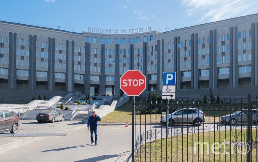 """В больнице святого Георгия ввели ограничительные меры. Фото Алены Бобрович, """"Metro"""""""