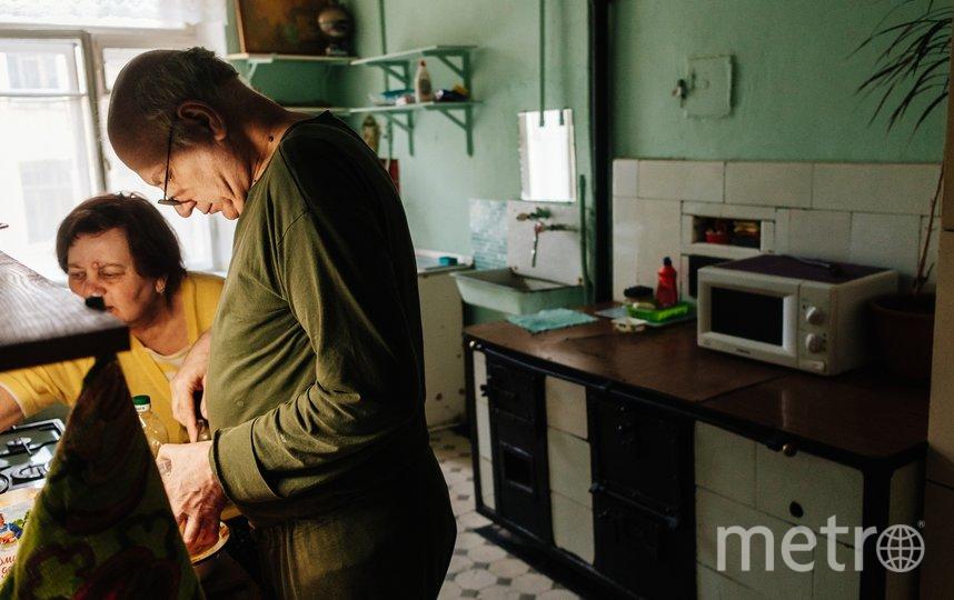Марк Гайдаш живёт в 9-комнатной коммуналке на Моховой. Фото Марк Гайдаш