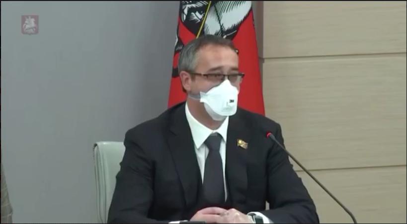 Алексей Шапошников. Фото скриншот трансляции заседания