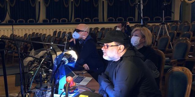 В БДТ прошел виртуальный сбор труппы. Андрей Могучий.
