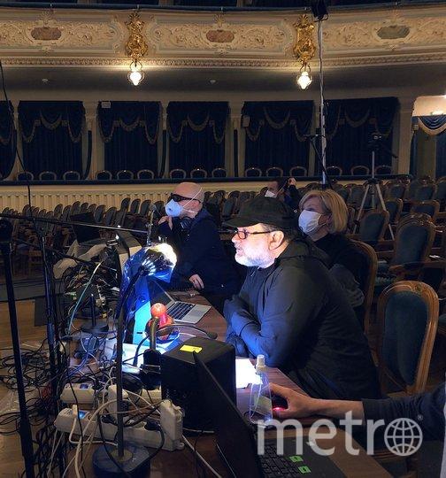 """В БДТ прошел виртуальный сбор труппы. Андрей Могучий. Фото предоставлены пресс-службой театра, """"Metro"""""""