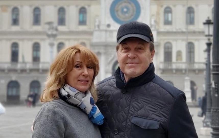 Лев Лещенко и его супруга Ирина. Фото скриншот instagram @leshchenko_lv