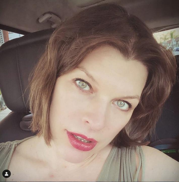 Милла Йовович. Фото Скриншот Instagram: @millajovovich
