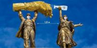 Памятники начали соблюдать меры безопасности при коронавирусе