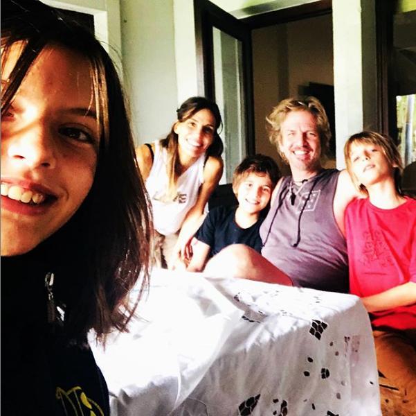 Факундо Арана с семьёй. Фото скриншот instagram.com/facundoaranatagle