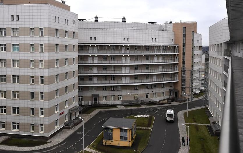 """Боткинская больница в Санкт-Петербурге. Фото """"Metro"""""""