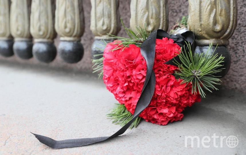 В Петербурге почтили память жертв теракта в метро 3 апреля 2017 года. Фото www.gov.spb.ru