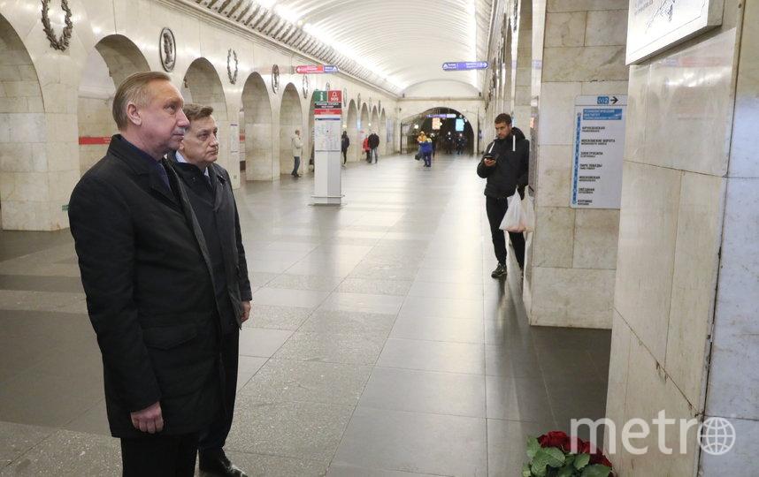 Губернатор Александр Беглов и председатель Законодательного Собрания Вячеслав Макаров. Фото www.gov.spb.ru