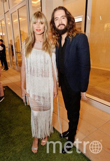 Хайди Клум с мужем Томом Каулитцем. Фото Getty