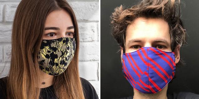 Многоразовая маска для лица из шелка, хлопка и вискозы INSHADE (1000 руб).