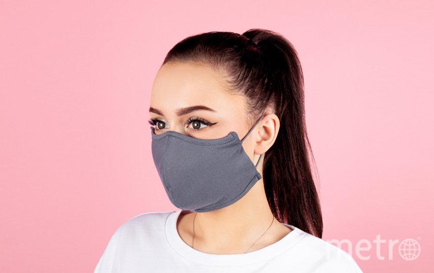 Многоразовая маска для лица из хлопка MIXIT (195 руб). Фото предоставлено пресс-службой