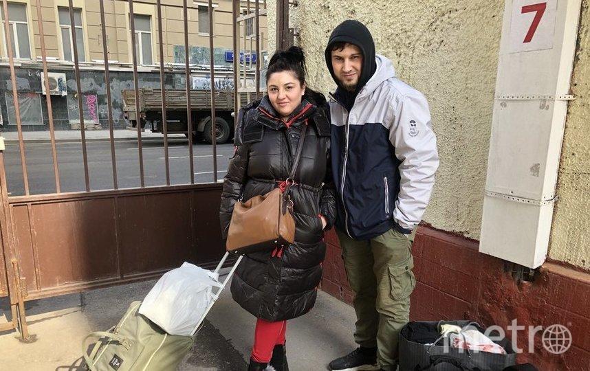 """Луиза и Рамзан. Фото Мария Беленькая, """"Metro"""""""